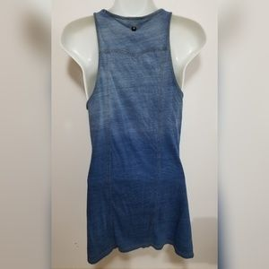 Diesel Dresses - Diesel blue ombre sleeveless dress